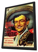 Tierra de pasiones - 11 x 17 Movie Poster - Spanish Style A - in Deluxe Wood Frame