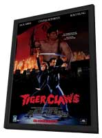 Tiger Claws - 27 x 40 Movie Poster - Style A - in Deluxe Wood Frame