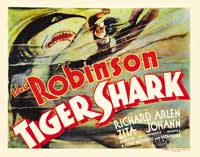 Tiger Shark - 22 x 28 Movie Poster - Half Sheet Style A