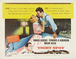 Tight Spot - 22 x 28 Movie Poster - Half Sheet Style A