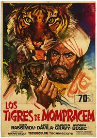 Le Tigri de Mompracem - 27 x 40 Movie Poster - Spanish Style A
