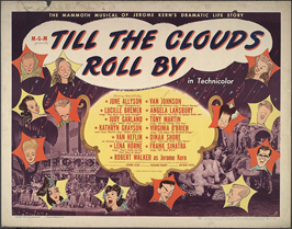 Till the Clouds Roll By - 11 x 14 Movie Poster - Style B