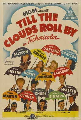 Till the Clouds Roll By - 11 x 17 Movie Poster - Style B