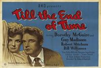 Till the End of Time - 27 x 40 Movie Poster - Foreign - Style A
