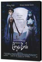 Tim Burton's Corpse Bride - 27 x 40 Movie Poster - Style B - Museum Wrapped Canvas