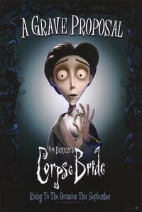 Tim Burton's Corpse Bride - 11 x 17 Movie Poster - Style C