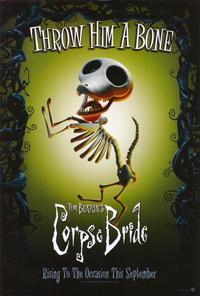 Tim Burton's Corpse Bride - 27 x 40 Movie Poster - Style C