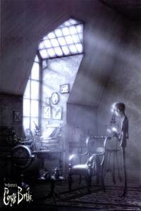 Tim Burton's Corpse Bride - 11 x 17 Movie Poster - Style J
