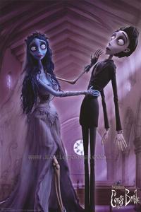 Tim Burton's Corpse Bride - 11 x 17 Movie Poster - Style K