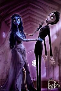 Tim Burton's Corpse Bride - 27 x 40 Movie Poster - Style F