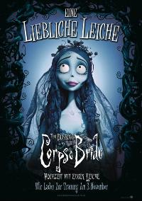 Tim Burton's Corpse Bride - 27 x 40 Movie Poster - German Style A