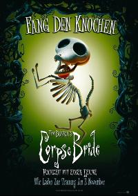 Tim Burton's Corpse Bride - 27 x 40 Movie Poster - German Style C