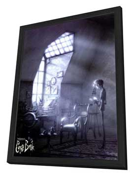 Tim Burton's Corpse Bride - 27 x 40 Movie Poster - Style E - in Deluxe Wood Frame