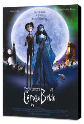 Tim Burton's Corpse Bride - 11 x 17 Movie Poster - Style N - Museum Wrapped Canvas