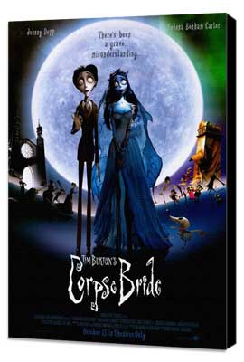 Tim Burton's Corpse Bride - 27 x 40 Movie Poster - Thai Style A - Museum Wrapped Canvas