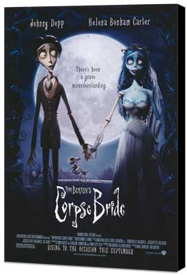 Tim Burton's Corpse Bride - 11 x 17 Museum Wrapped Canvas