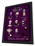Tim Burton's Tragic Toys - 11 x 17 Movie Poster - Style A - in Deluxe Wood Frame