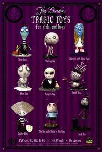 Tim Burton's Tragic Toys - 11 x 17 Movie Poster - Style A