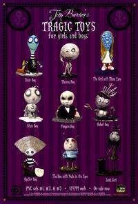 Tim Burton's Tragic Toys - 27 x 40 Movie Poster - Style A