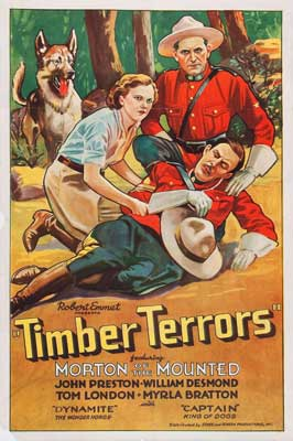 Timber Terrors - 11 x 17 Movie Poster - Style A