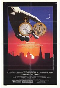Time After Time - 11 x 17 Movie Poster - Style A