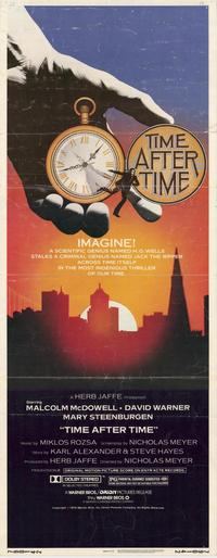 Time After Time - 14 x 36 Movie Poster - Insert Style A