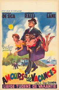 Time of Vacation - 27 x 40 Movie Poster - Belgian Style A