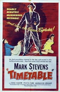 Time Table - 11 x 17 Movie Poster - Style A