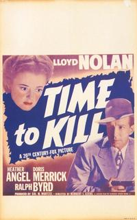 Time to Kill - 27 x 40 Movie Poster - Style A
