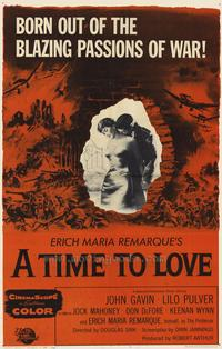 A Time to Love & a Time to Die - 27 x 40 Movie Poster - Style A