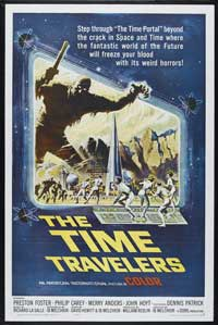 The Time Travelers - 43 x 62 Movie Poster - Bus Shelter Style A