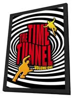 Time Tunnel (TV) - 11 x 17 TV Poster - Style A - in Deluxe Wood Frame