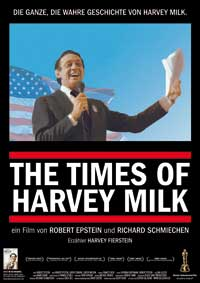 Times of Harvey Milk - 11 x 17 Movie Poster - German Style A