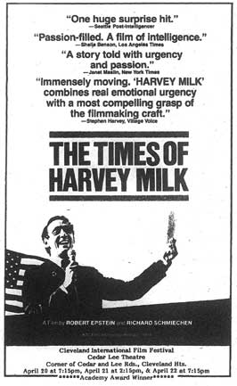 Times of Harvey Milk - 11 x 17 Movie Poster - Style B