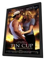 Tin Cup - 11 x 17 Movie Poster - Style A - in Deluxe Wood Frame