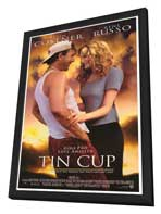 Tin Cup - 27 x 40 Movie Poster - Style A - in Deluxe Wood Frame