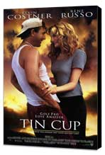 Tin Cup - 11 x 17 Movie Poster - Style A - Museum Wrapped Canvas