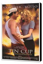 Tin Cup - 27 x 40 Movie Poster - Style A - Museum Wrapped Canvas