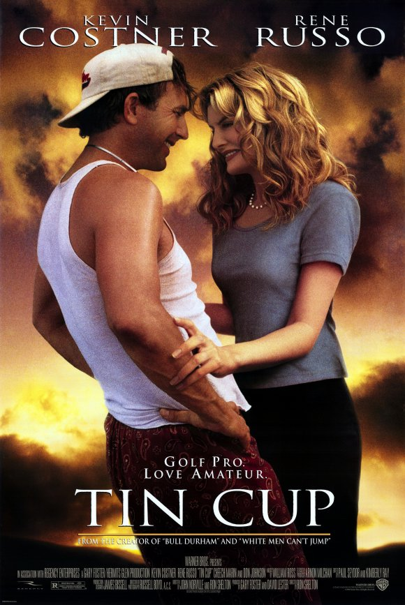 Tin Cup Movie Posters From Movie Poster Shop