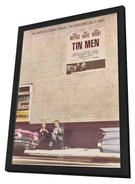 Tin Men - 11 x 17 Movie Poster - Style A - in Deluxe Wood Frame