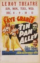 Tin Pan Alley - 11 x 17 Movie Poster - Style B