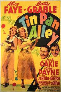 Tin Pan Alley - 11 x 17 Movie Poster - Style A