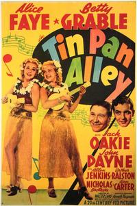 Tin Pan Alley - 43 x 62 Movie Poster - Bus Shelter Style A