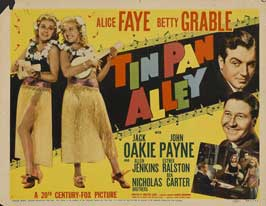 Tin Pan Alley - 11 x 14 Movie Poster - Style A