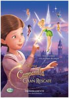 Tinker Bell and the Great Fairy Rescue - 11 x 17 Movie Poster - Spanish Style A