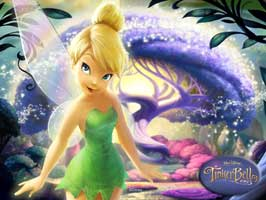 Tinker Bell and the Great Fairy Rescue - 11 x 17 Movie Poster - Style B