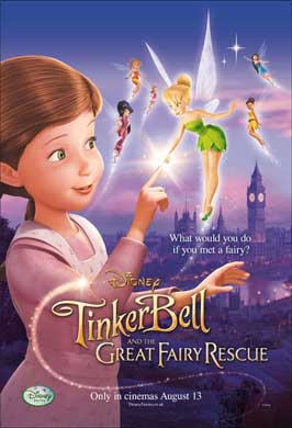 Tinker Bell and the Great Fairy Rescue - 27 x 40 Movie Poster - UK Style A