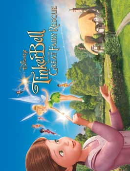 Tinker Bell and the Great Fairy Rescue - 43 x 62 Movie Poster - Bus Shelter Style B
