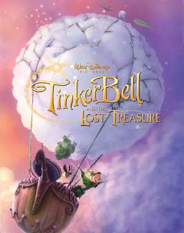 Tinker Bell and the Great Fairy Rescue - 27 x 40 Movie Poster - Style D