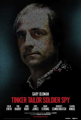 Tinker, Tailor, Soldier, Spy - 11 x 17 Movie Poster - Style B